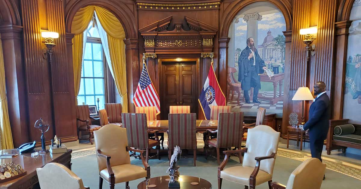 Meeting at Missouri Governors Office