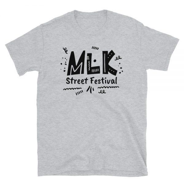 Women's Sport Grey MLK Street Festival T-Shirt