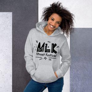 Women's MLK Street Festival Pullover Hoodie